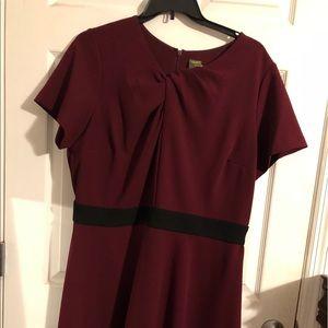 Maroon Taylor Brand Dress - Size 18W